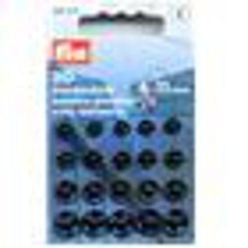 Sew-On Snap Fastener 6-11mm Black