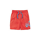Name It Car Motif Swim Shorts - Red