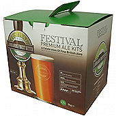 Festival 40 pint home brew beer kit - Landlords Finest Bitter