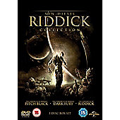 Riddick: The Collection DVD (Pitch Black/The Chronicles Of Riddick: Dark Fury/The Chronicles Of Riddick)