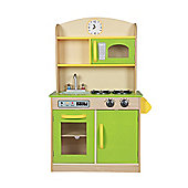 Wooden Deluxe Kitchen by Teamson Classic suitable from 3 years+
