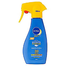 Nivea Sun Protect & Moisture Moisturising Sun Spray 30 High 300ml