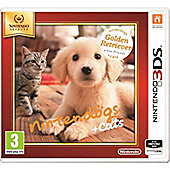 Nintendogs And Cats (Golden Retriever + New Friends 3DS