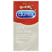Durex Ultra Thin Condoms 14's
