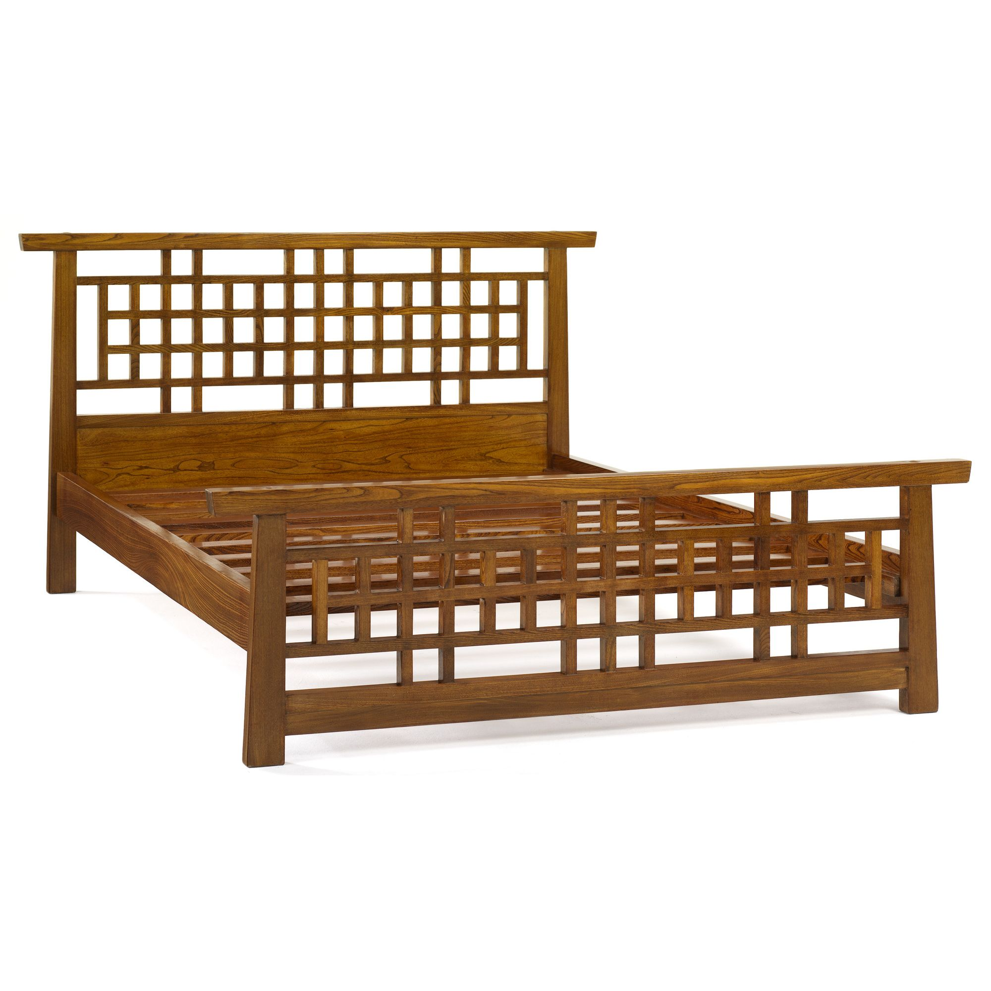 Shimu Asian Contemporary Lattice Bed at Tesco Direct