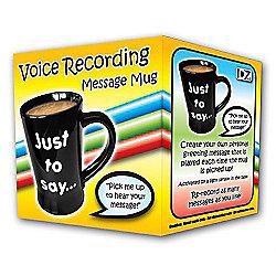 DZine Voice Recording Message Mug