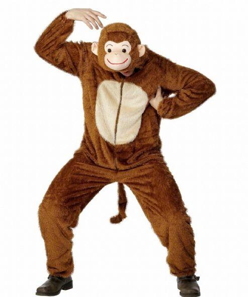Monkey - Adult Costume Size: 38-40