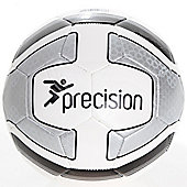 Precision Santos Training Ball White/Silver/Black Size 4
