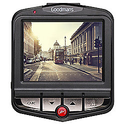 Goodmans GSCOUTHD Dash Cam Camera Full HD 1080p Black