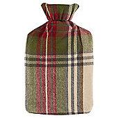 Croft Xmas Tartan Hot Water Bottle