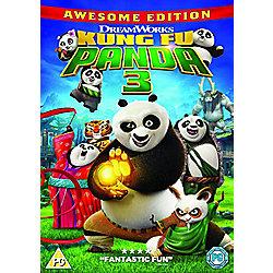 Kung Fu Panda 3 DVD