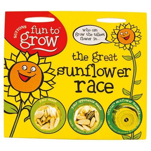 Suttons Kids Sunflower Race
