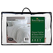Kings & Queens Goose Feather & Down Pillow