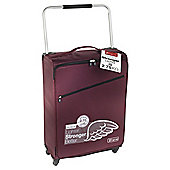 Z Frame Super-Lightweight 4-Wheel Suitcase, Aubergine Large
