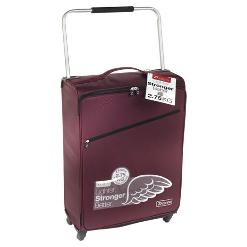 Z Frame 4-Wheel Super-Lightweight Suitcase, Aubergine Large