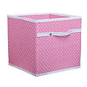 Dotty Toy Box - Pink