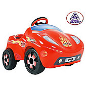 Injusa 6V Ride-On Fire Racer