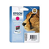 Epson T0713 Ink Cartridge (Blister Pack with RF) - Magenta