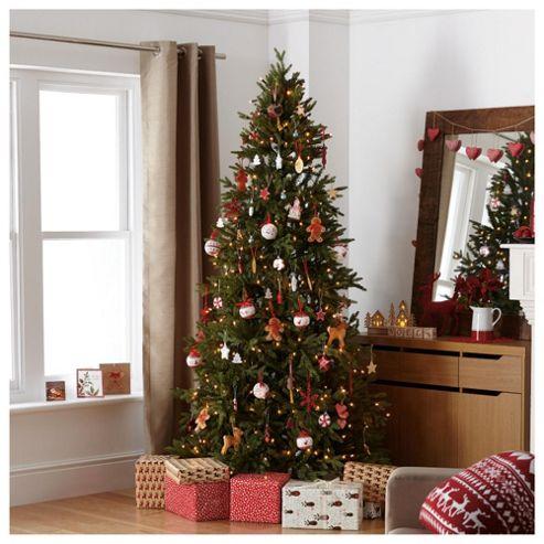 Festive Pasadena Pine Christmas Tree