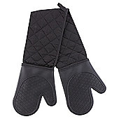Black Silicone Double Oven Glove