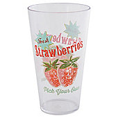 Strawberry Acrylic Tumbler