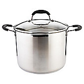 Tesco Stainless Steel 24 cm Large Stockpot