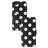 iPhone 5 Folio Case Polka Dot