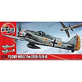 Airfix A16001A Focke Wulf Fw-190A-5/A-6 1:24 Aircraft Model Kit