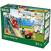 BRIO 33773 Railway Starter Set Pack A for Wooden Train Set