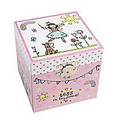 Tess The Fairy Square Jewellery Box