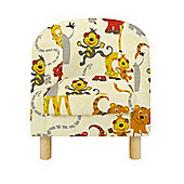 Children's Tub Chair - Jungle Party