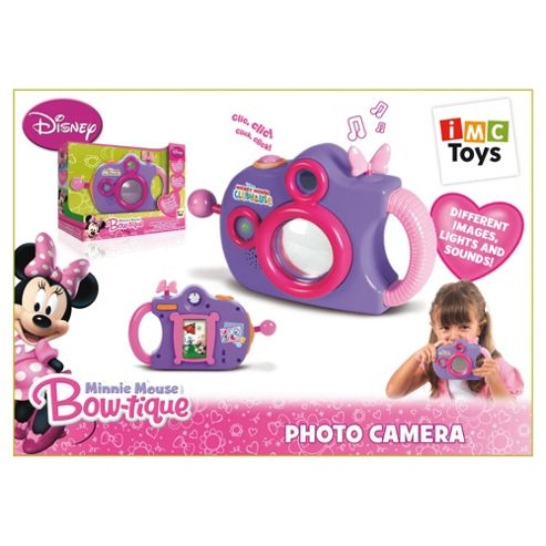 Minnie Mouse Pretend Camera