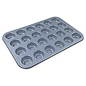 Tesco Non Stick Mini Muffin Tin 24 Cup 38cm x 25cm