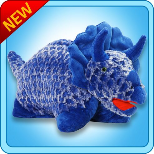 Pillow Pets Fantasy  Blue Dinosaur 18