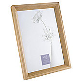 Tesco Basic Photo Frame A4, Oak