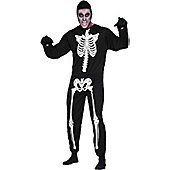 Skeleton - Adult Costume Size: 42-44