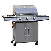 BillyOh 5000 Prestige Phoenix Stainless Steel 3 Burner Gas BBQ Including Gas Hose & Regulator
