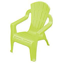 Plastic Childrens' Chair, Green