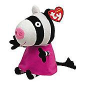 TY Peppa Pig - Zoe Zebra 20cm
