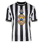 Newcastle United 1998 Home Shirt - Black & White