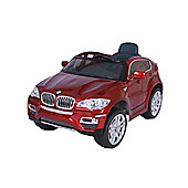 BMW X6 - Licensed 12v Electric Ride on Jeep - Red
