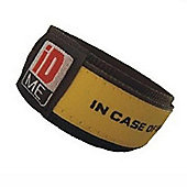 iDME Kids Safety iD Wristband Yellow