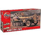 Airfix A06360 Rommel'S Half Track 1:32 Military Model Kit