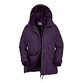 Fell Womens 3 in 1 Water-Resistant Jacket - Purple
