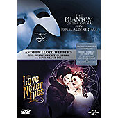The Phantom Of The Opera / Love Never Dies (Box-Set) (DVD Boxset)