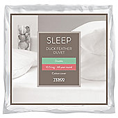 Tesco Duck Feather Double Duvet 10.5 Tog