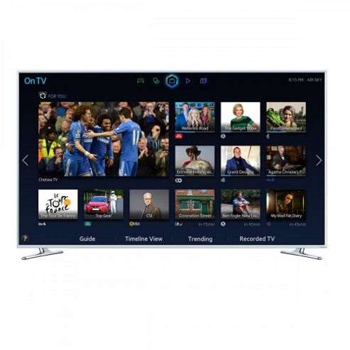 Samsung Series 6 H6410 (48 inch) Full HD 3D Smart LED Television Built-in WiFi and Freeview HD
