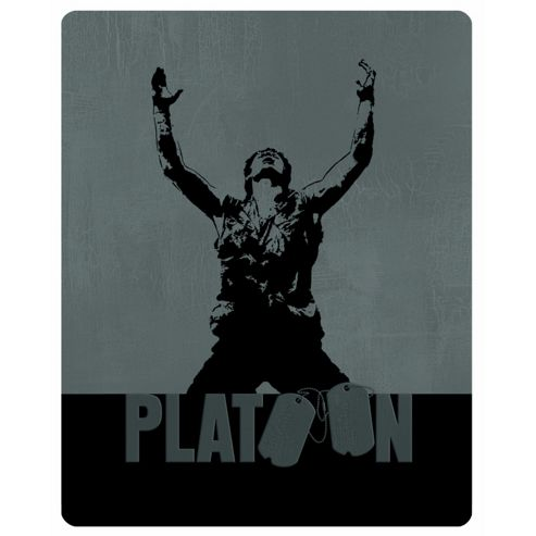 Platoon - Limited Edition Steelbook Blu-Ray + DVD