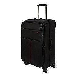 SpaceLite 4-Wheel Suitcase, Black Medium