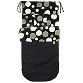 Buggy Snuggle Explorer Waterproof Buggysnuggles (Retro Charcoal Spotty)